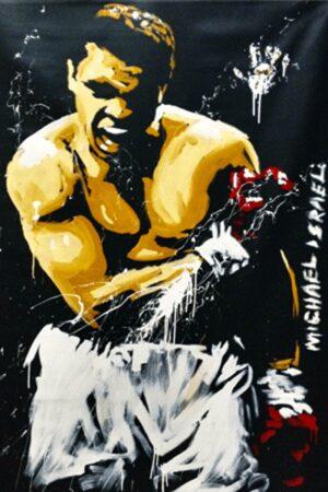 Painting of Muhammad Ali, The Greatest!