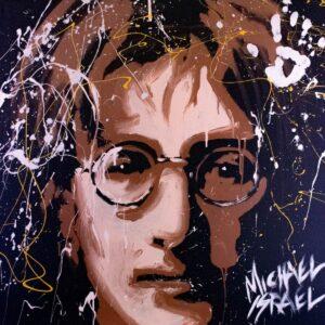 John Lennon Young Rebel Color