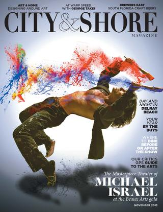michael israel city and shore magazine
