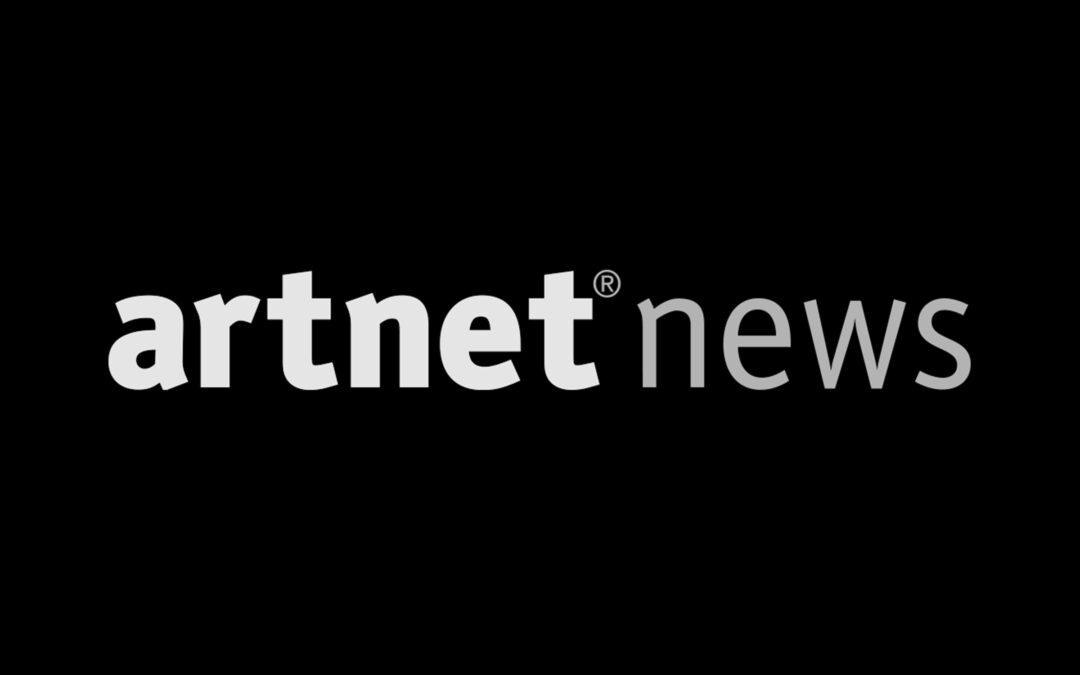 """ARTNET NEWS """"We've seen the future of Art"""""""
